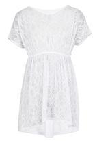 POP CANDY - Sundress Dress White