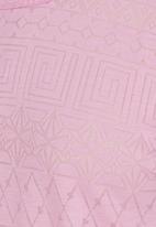 Rebel Republic - Cut-out Shoulder Top Pale Pink