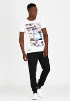Dissident - DD Faded T-Shirt White