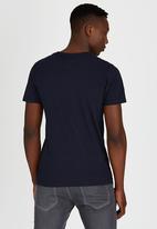Dissident - DD Miami Nights T-Shirt Navy