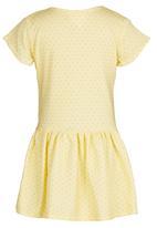 See-Saw - Drop Waist Dress Yellow