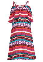 POP CANDY - Printed Dress Red