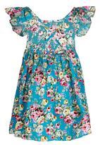 POP CANDY - Light Blue Floral Dress Pale Blue