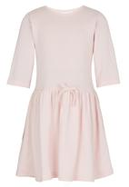 See-Saw - 3/4 Sleeve Dress Pale Pink