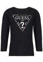 GUESS - Foil Triangle Tee Black