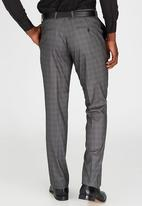 Brooksfield - Tailored Fit Trouser Black