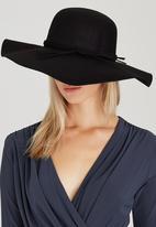 Dazzle - Slouchy Felt Hat Black