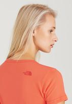 The North Face - Simple Dome Tee Orange