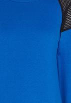Rebel Republic - Lace Insert Sweater Blue