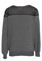 Rebel Republic - Lace Insert Sweater Grey