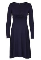 c8374e2262a Bella Breastfeeding Dress Navy Me-a-mama Dresses & Jumpsuits ...