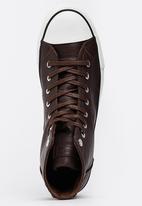 Levi's® - Levis Trucker HI Sneakers Dark Brown