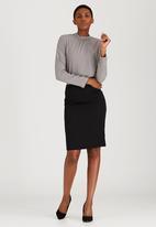 edit - Work Pencil Skirt Black