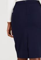 edit - Work Pencil Skirt Navy