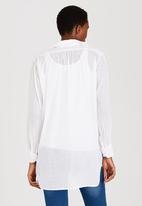 Me-a-mama - Soho Maternity Shirt White