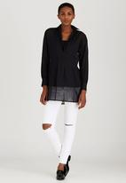 Me-a-mama - Soho Maternity Shirt Black