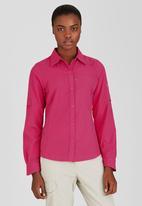 Columbia - Silver Ridge Long Sleeve Shirt Dark Pink