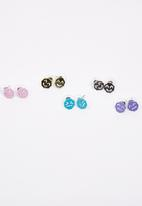 FUNKY FISH - Set of Five Different Pairs of Smiley Suds Multi-colour