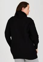 edit Plus - Shelly Upstyle Dress Black
