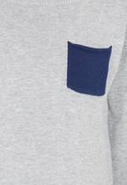 See-Saw - Knitted Jumper Grey Melange