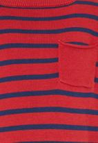 See-Saw - Knitted Jumper Red