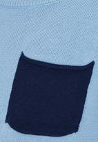 See-Saw - Knitted Jumper Mid Blue