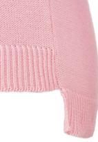 Rebel Republic - Knitted Jumper Pale Pink