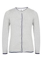 Rebel Republic - Knitted Cardigan Grey Melange