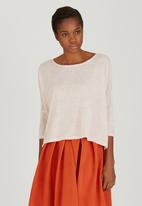 GOOD CLOTHING - Boxy Top Pale Pink