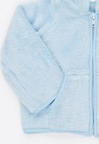 Luke & Lola - Fleece with Hood Pale Blue