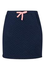 Rebel Republic - Quilted Skirt Navy