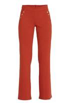 STYLE REPUBLIC - Wide Leg Sailor Pants Mid Brown