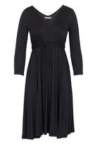 Bukamina - Winter Dress Black