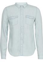 Levi's® - Modern Western Tencel Shirt Pale Blue