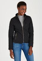 STYLE REPUBLIC - Puffer Jacket Black