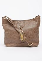 Moda Scapa - Shoulder Bag Dark Brown