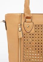 Moda Scapa - Shimmer Shopper Bag Tan