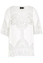 STYLE REPUBLIC - Combo Crochet Top White