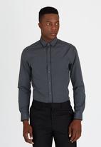 Brooksfield - Tailored Fit Shirt Dark Grey
