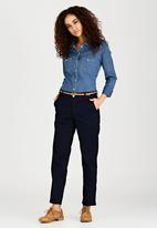 c(inch) - Belted Pant Navy