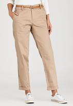c(inch) - Belted Pant Stone