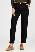c(inch) - Belted Pant Black