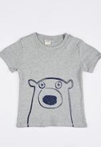 POP CANDY - Bear Tee Grey