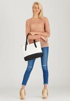 Moda Scapa - Shopper Bag Black and White