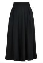 STYLE REPUBLIC - Longer Length Midi Skirt Black