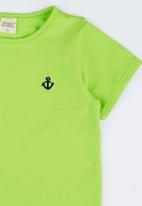 POP CANDY - Toddler Round Neck Tee Light Green