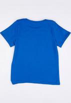 POP CANDY - Toddler Round Neck Tee Mid Blue