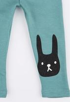 POP CANDY - Bunny Leggings Light Green