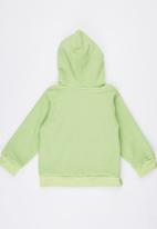 POP CANDY - Dinosor Hooded Zip Jacket Green