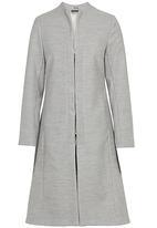 AMANDA LAIRD CHERRY - Daria Melton Coat Pale Grey